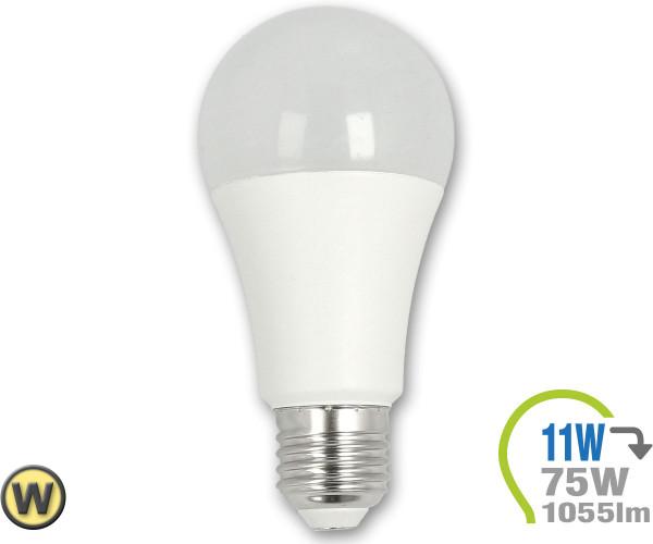 E27 LED Lampe 11W WArmweiß 3000K 1055lm (75W)