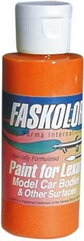 Faslucent Transparent Orange Airbrush Farbe 60ml