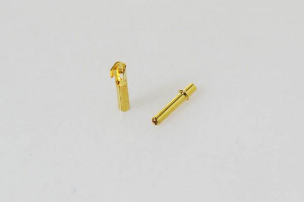 Goldkontakt Bullets DB2 2.3mm (3 Paar)