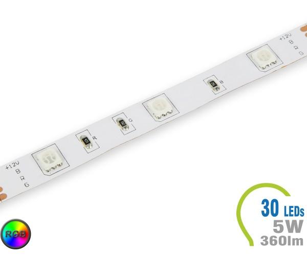 LED Stripe 30 LED/m 360 lm/m RGB