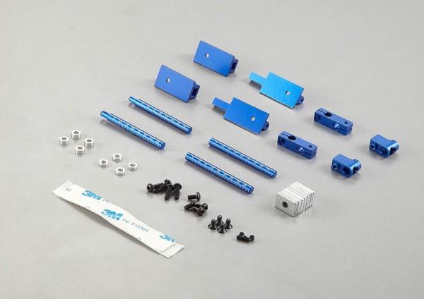 Karosseriesteher Aluminium magnetisch (2 Stk)