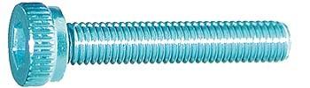 M3x18mm Zylinderkopfschraube Licht blau (4)