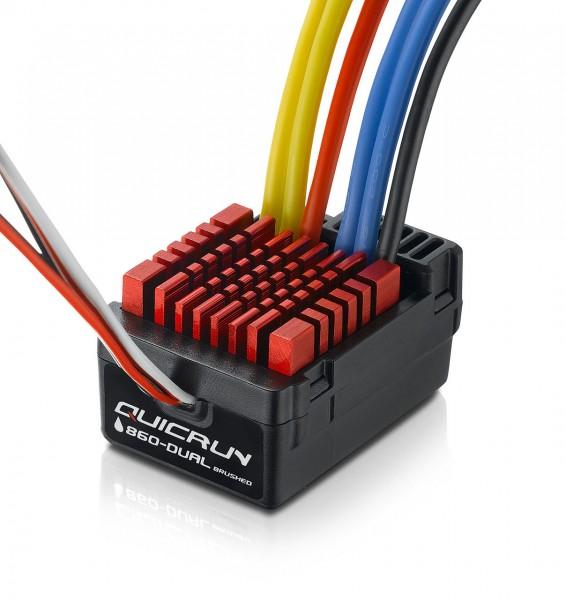 QuicRun 0860 Dual Brushed Regler 60A für 1:10
