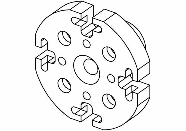 Hauptkörper für Pro-Bite Kupplung