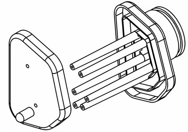 Luftfilter Plastik Gehäuse & Deckel