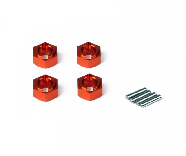Aluminium Radmitnehmer, Orange (Animus SC/TR)