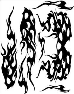 Airbrush Maske Aggrevation