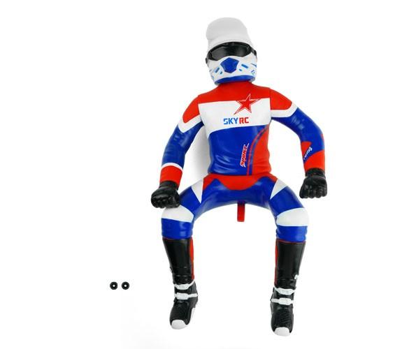 Fahrerfigur Rot-Blau für SR5 Motorrad (RB-H006)