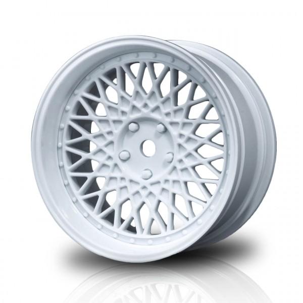 Drift Felge 501 weiß Offset 4-fach verstellbar (4 Stück)