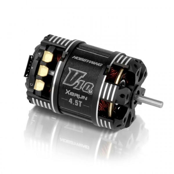 Xerun V10 Brushless Motor G3 7340kV (2s) 4.5T Sensored für 1