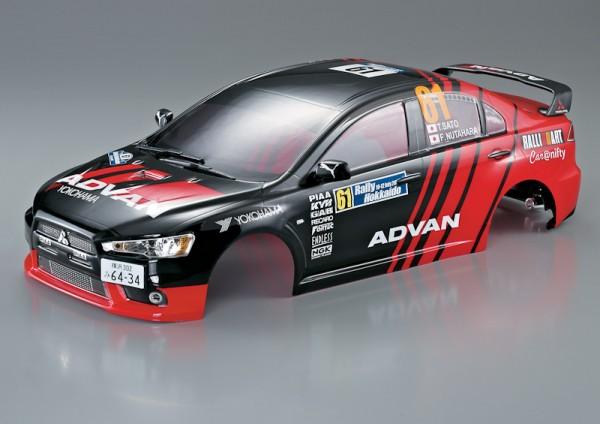 Mitsubishi Lancer Evo X Karosserie Rally-Racing 190mm RTU