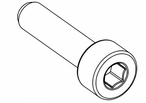 Zylinderkopf Innensechskantschraube M4x16 mm