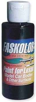 Faspearl Schwarz Airbrush Farbe 60ml