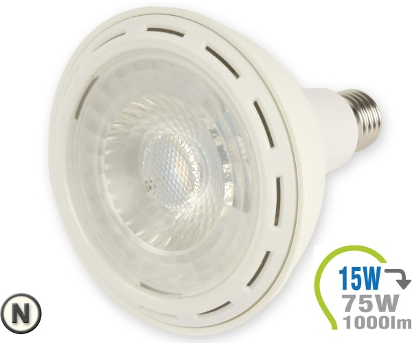 E27 LED Lampe 15W Spot PAR38 Neutralweiß