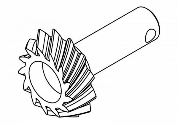 Triebling Differential 13 Zähne für 37Z Tellerrad Vorne (Opt