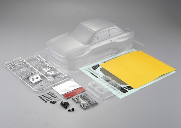 Alfa Romeo 2000 GTAm  Karosserie unlackiert 195mm Kit