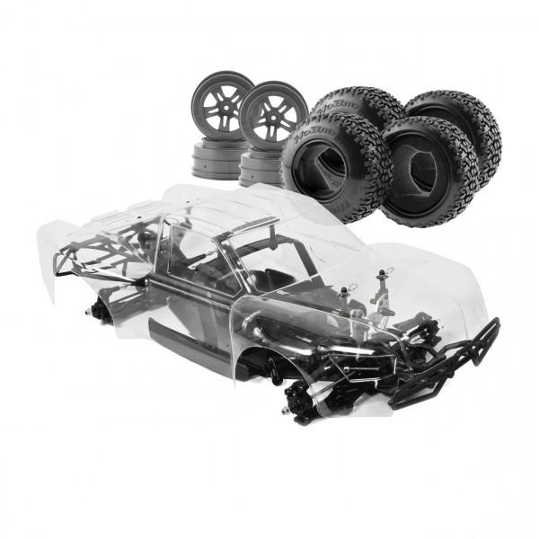 Hyper 10 Short Course 1/10 80% ARR Roller (klare Karosserie)