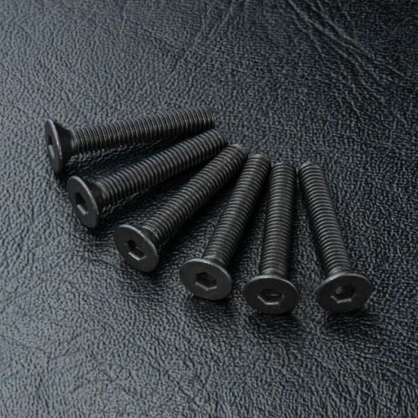 Senkkopfschraube Innensechskant M3x18mm (6 Stück)