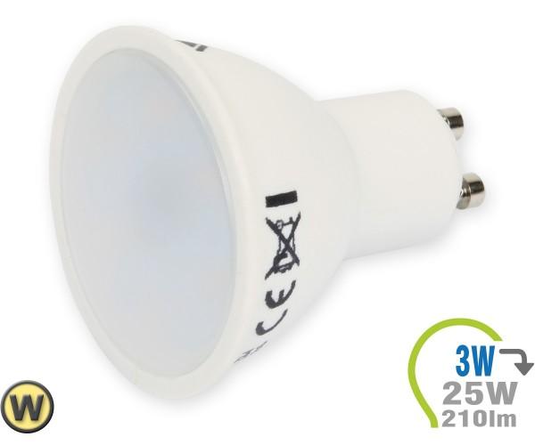 GU10 LED Lampe 3W Spot Warmweiß