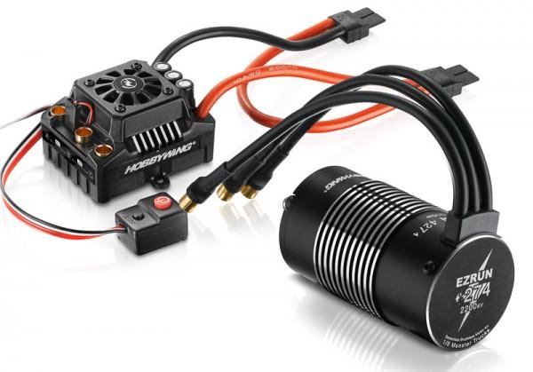 Ezrun MAX8 Combo mit SL-4247-2200kV Sensorless TRX-Stecker