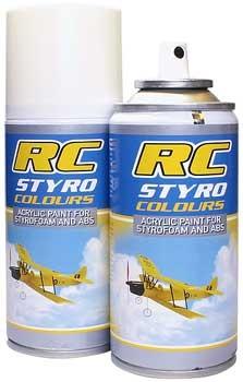 Styro Farbe Fluo Orange 150ml