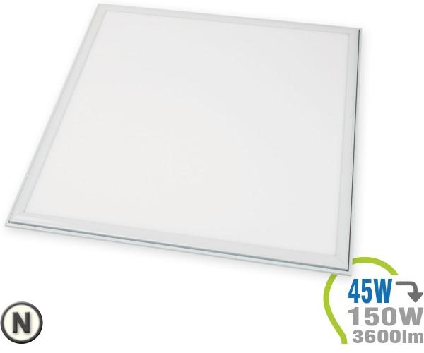LED Panel 45W 62x62cm ohne Treiber Neutralweiß