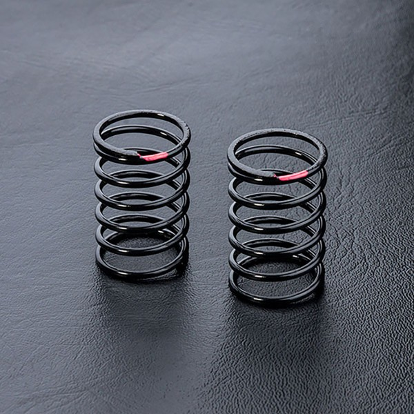 Stoßdämpferfeder 25mm weich rot (2 Stück)