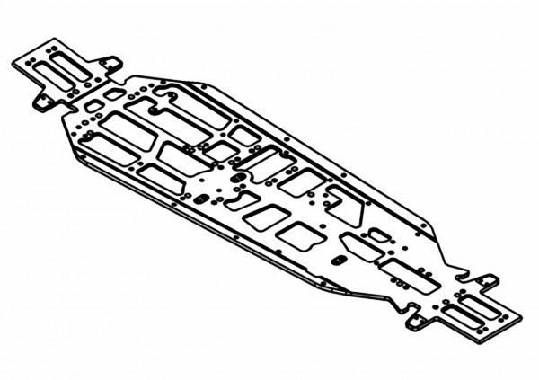 Chassis Lightweight 7075 eloxiert Max 610 W5