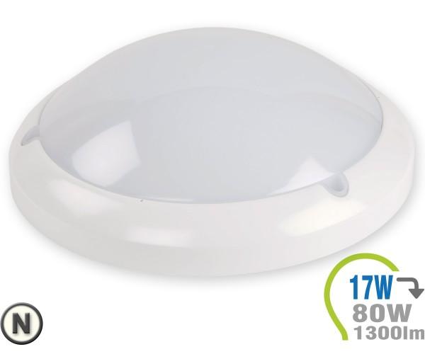 LED Aufbauleuchte Dome 17W mit integr. Bewegungsmelder