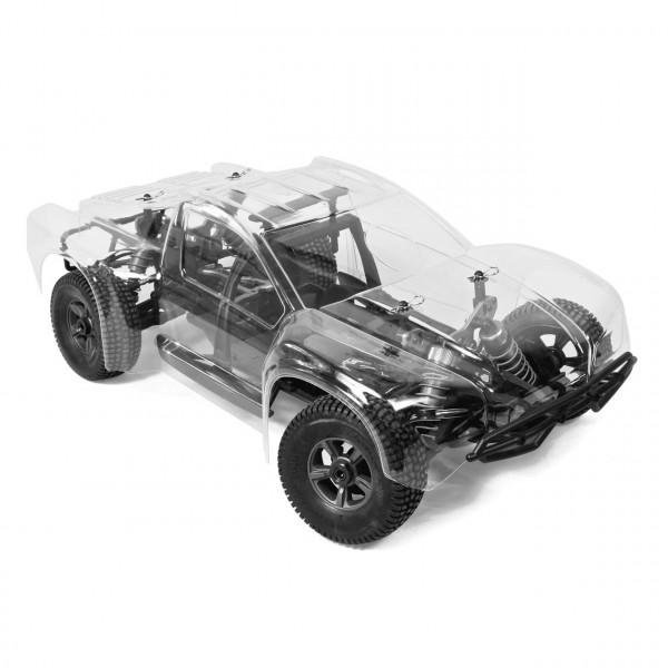 Hyper 8 Short Course 1/8 80% ARR Roller (klare Karosserie)