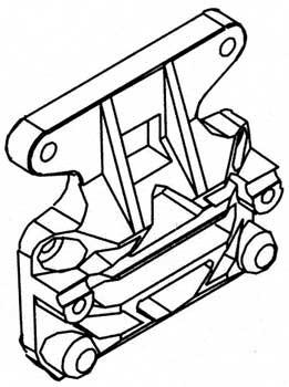 Hinterer Bumper ETC,NTC