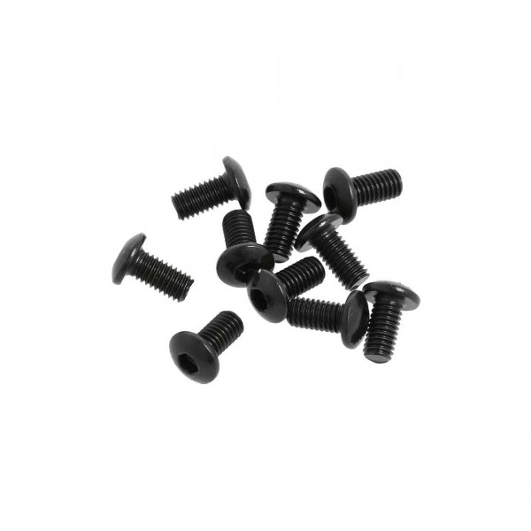 M3x6mm Button Head Hex Socket Screw (6pcs)