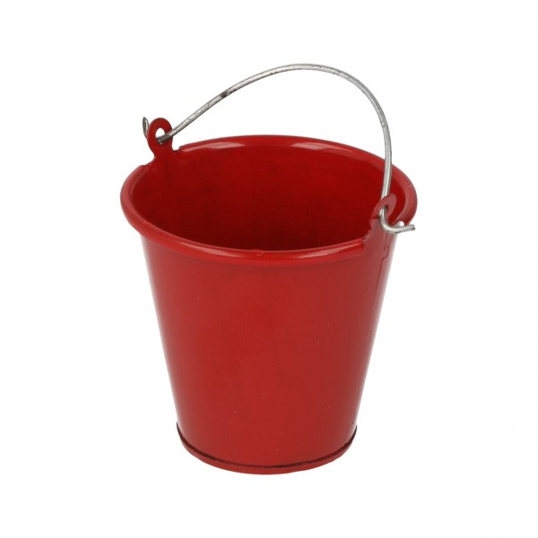 Metalleimer Rot