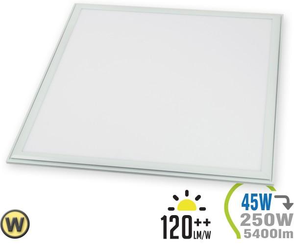 LED Panel 45W 60x60cm 5400lm inkl. Treiber Warmweiß