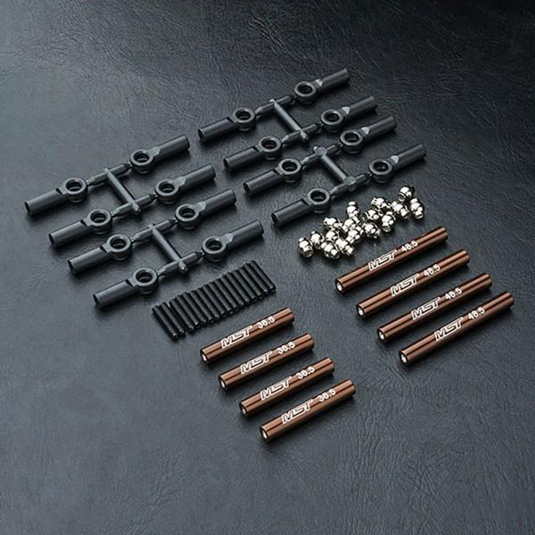 Verbindungsstange Set Alu brau 242mm CMX