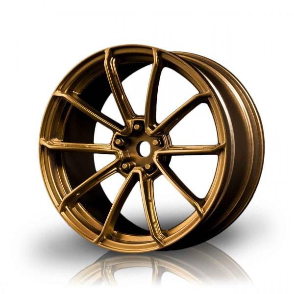 Drift Felge GTR Gold  (+3mm Offset) (4 Stück)