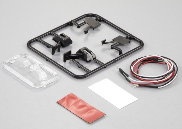 Rückspiegel Set (Seitlich) Type-E inkl. LED