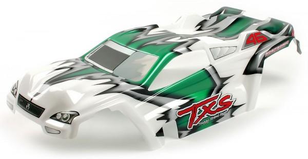 Mantis Karosserie Grün/Weiß lackiert