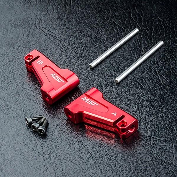 Querlenker Aluminium oben rot RMX
