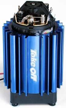 Motor Kühlstand Blau