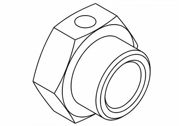 Radmitnehmer Sechskant 24mm