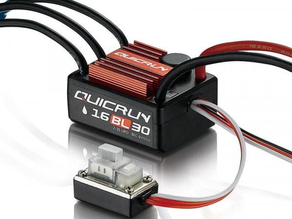 QuicRun WP16BL30 Brushless Regler 30A für 1:16