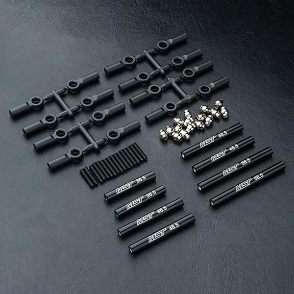 Verbindungsstange Set Alu schwarz 252mm CMX