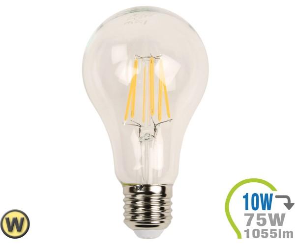 E27 LED Lampe 10W Filament A67 Warmweiß