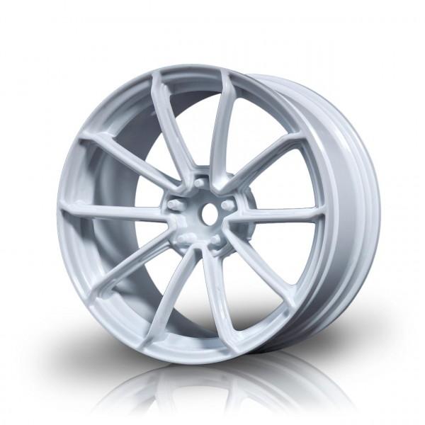 Drift Felge GTR Weiß (+3mm Offset) (4 Stück)