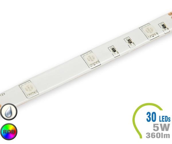 LED Stripe 30 LED/m 360 lm/m RGB IP65