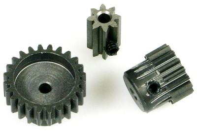Motorritzel 48dp 10Z Stahl Bohrung 2mm