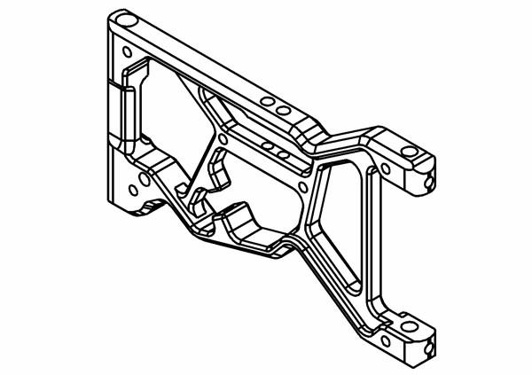 Schwingen / Querlenker Aluminium Vorne (Optional)