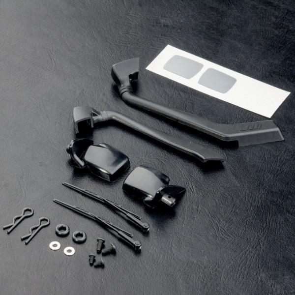 MST J3 Side mirror & snorkel set
