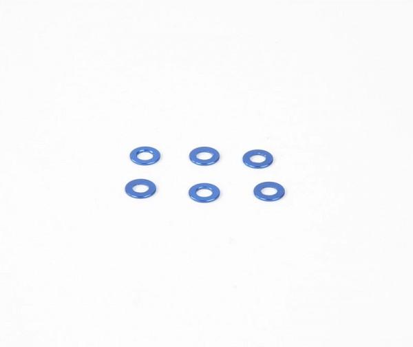 0.5x6mm Distanzstück - Blau (6Stk.)